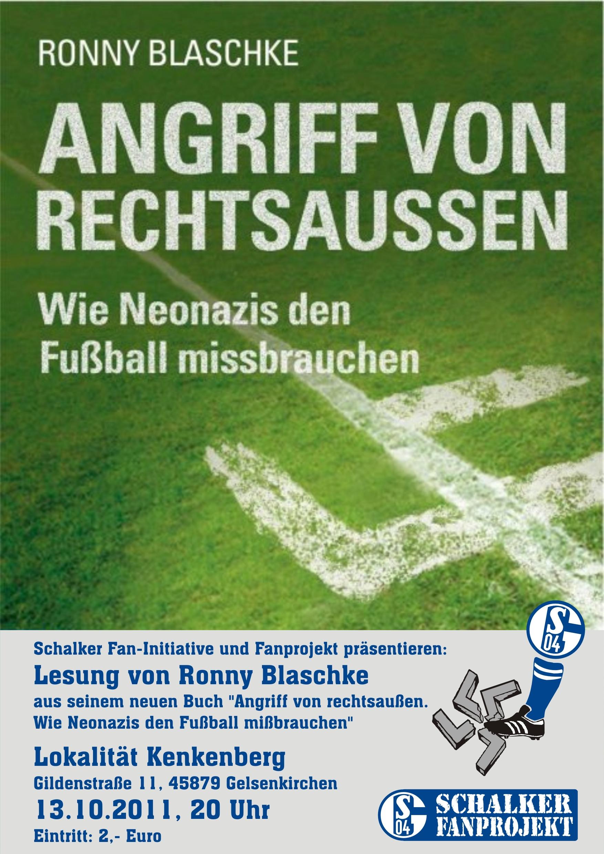 Plakat Ronny Blaschke